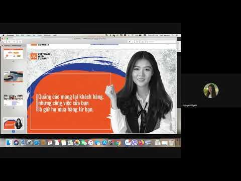 Buổi học Digital Marketing trực tuyến cùng Ms Uyên