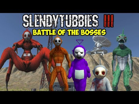 THE QUEST FOR GREATNESS CONTINUES | SLENDYTUBBIES 3 - BATTLE OF THE BOSSES | SANDBOX MODE