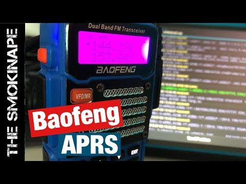 APRS With Baofeng HAM Radio And APRSDriod - TheSmokinApe
