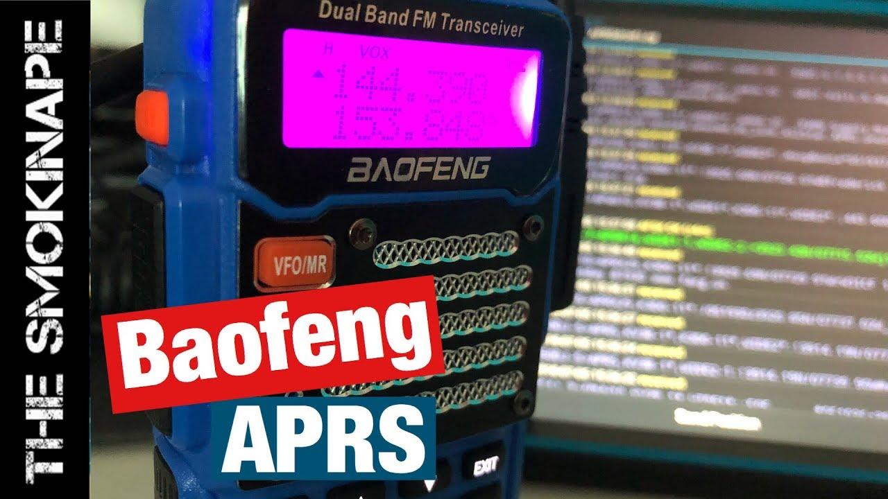 Download APRS with Baofeng HAM Radio and APRSDriod - TheSmokinApe