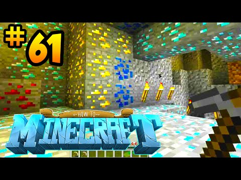How to Minecraft: THE MINING CHALLENGE! (61) - w/ Preston & Kenny
