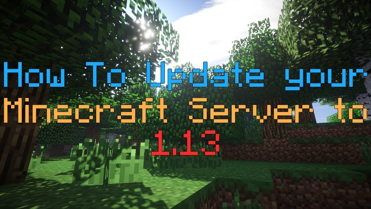 How to Update a Minecraft Server: 13 Steps (with Pictures)