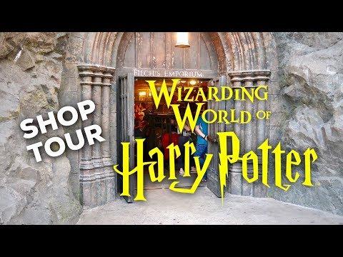 HARRY POTTER SHOP TOUR: Filch's Emporium | WIZARDING WORLD UNIVERSAL ORLANDO