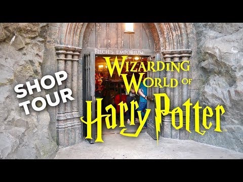 HARRY POTTER SHOP TOUR: Filch's Emporium | WIZARDING WORLD UNIVERSAL ORLANDO