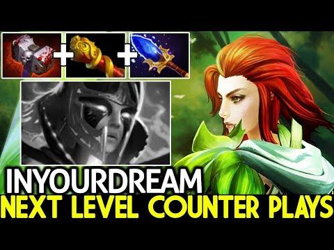 Inyourdream [Windranger] Next Level Counter Plays Insane Arrow Damage 7.22 Dota 2