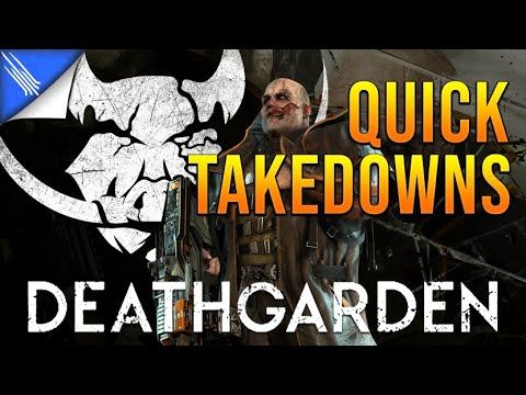 Quick Takedowns and Delayed Executions - Deathgarden Poacher Gameplay