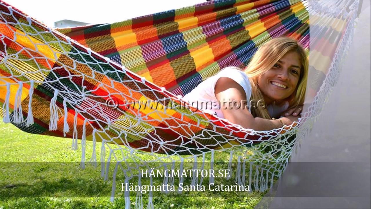 Hängmatta Santa Catarina, från Brasilien. Brasiliansk ...
