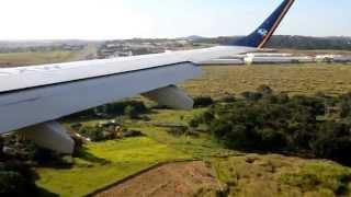 Pouso no Aeroporto Santa Genoveva Goiânia Goiás Brasil 14/05/2014
