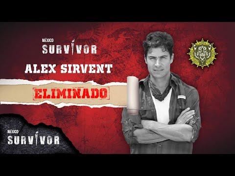 Alex Sirvent es eliminado de Survivor México. | Survivor México