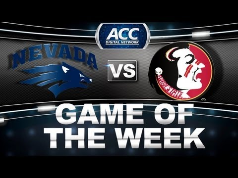 Game of the Week | Nevada vs Florida State | ACCDigitalNetwork