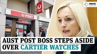 Australia Post boss steps aside amid investigation into luxury watch bonuses