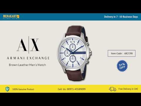 Armani Men's Watch Online UAE | Men's Watch Online In Dubai | Quality Watches.