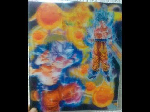 3d Foto Lenticular México Goku En 3d Llaveros Separadores