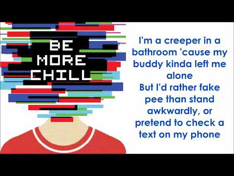 Michael In The Bathroom - BE MORE CHILL (LYRICS)