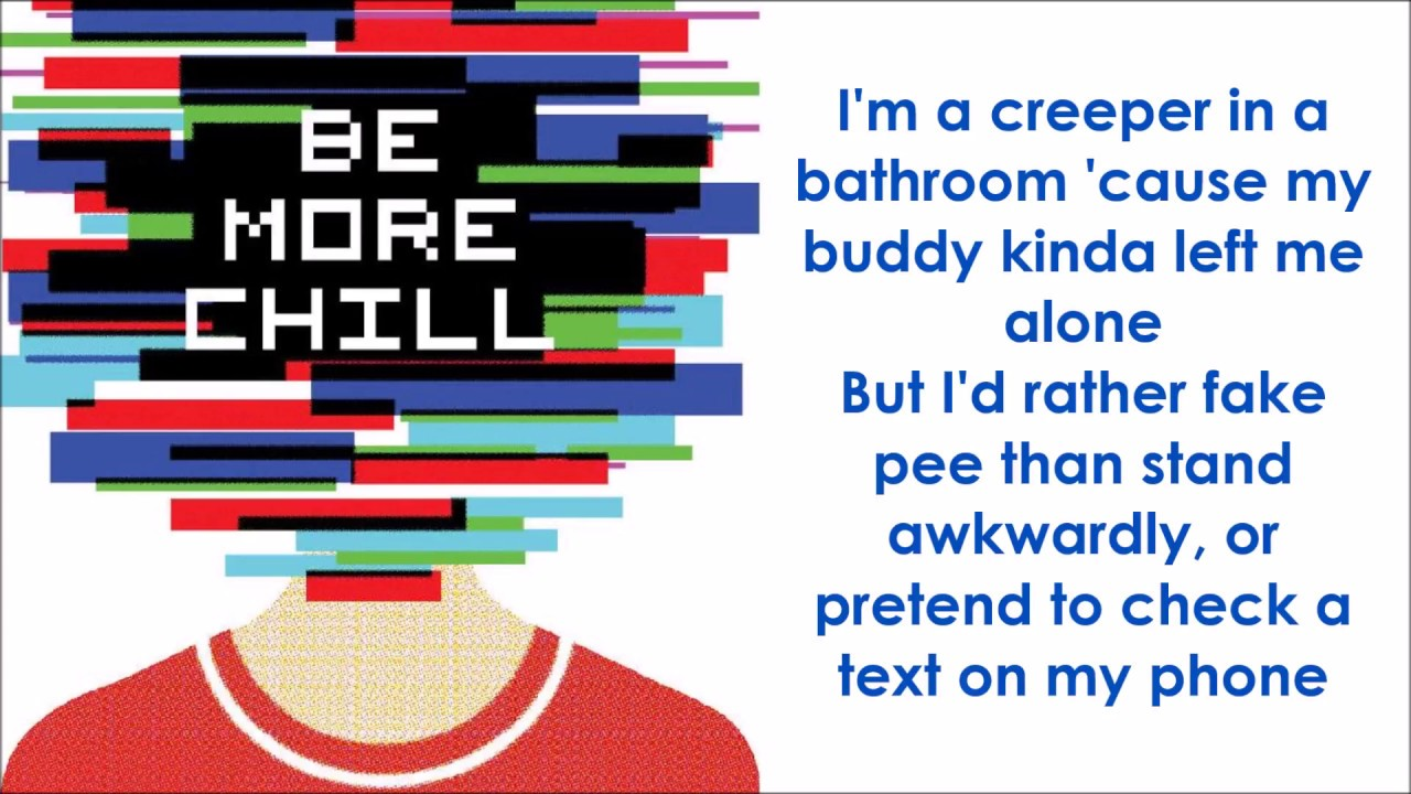 Superbe Michael In The Bathroom   BE MORE CHILL (LYRICS)
