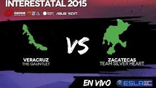League of Legends - INTERESTATAL-  THE GAUNTLET(Veracruz) Vs.TEAM SILVER HEART(Zacatecas) -Partida 2