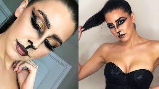 Smokey Kitty Cat - Halloween Makeup Tutorial | amanda devon