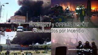 Incendio Walmart Las Cascadas