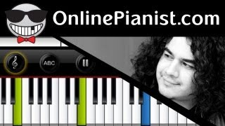 Chris Medina - What Are Words - (Easy Version) Piano Tutorial