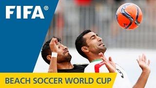 HIGHLIGHTS: Mexico v. Iran - FIFA Beach Soccer World Cup 2015