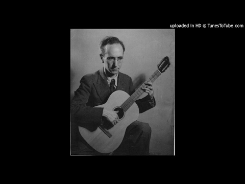 Len Williams (father of classical guitarist John Williams) Plays April Kisses by Eddie Lang