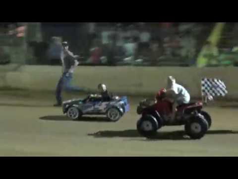 Kids Power Wheel Race at County Line Raceway 6/9/18