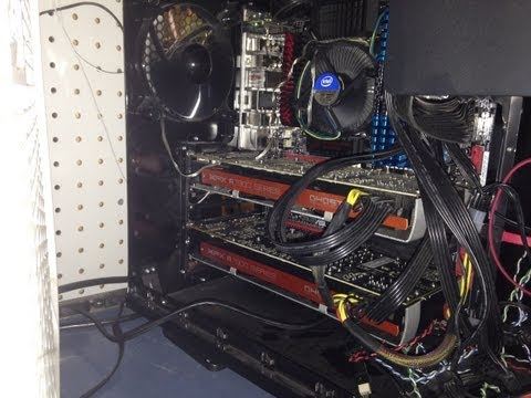 Litecoin Miner, How I Do It. 2 X HD 7970 And Power Usage.  DOGECOIN And Scrypt