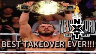 BEST TAKEOVER EVER!!! NXT TAKEOVER NEW YORK 2019 REVIEW!!!