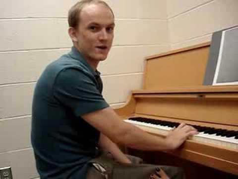 Behind the Scenes:  Video taken after Requiem Recording