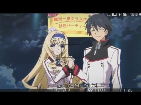 Infinite Stratos - Fail Moment Taking Picture Ichika and Cecilia (English Dub)