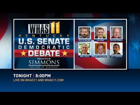 KY US Senate 2016 Democratic Primary Debate 1 of 2