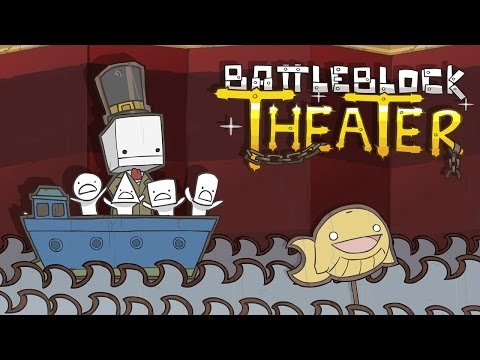 BattleBlock Theater - The Story (Xbox One Gameplay, 360 BC)