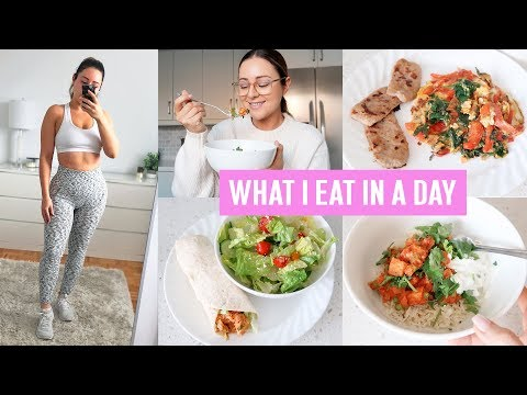 WHAT I EAT IN A DAY & COOK WITH ME 2019!