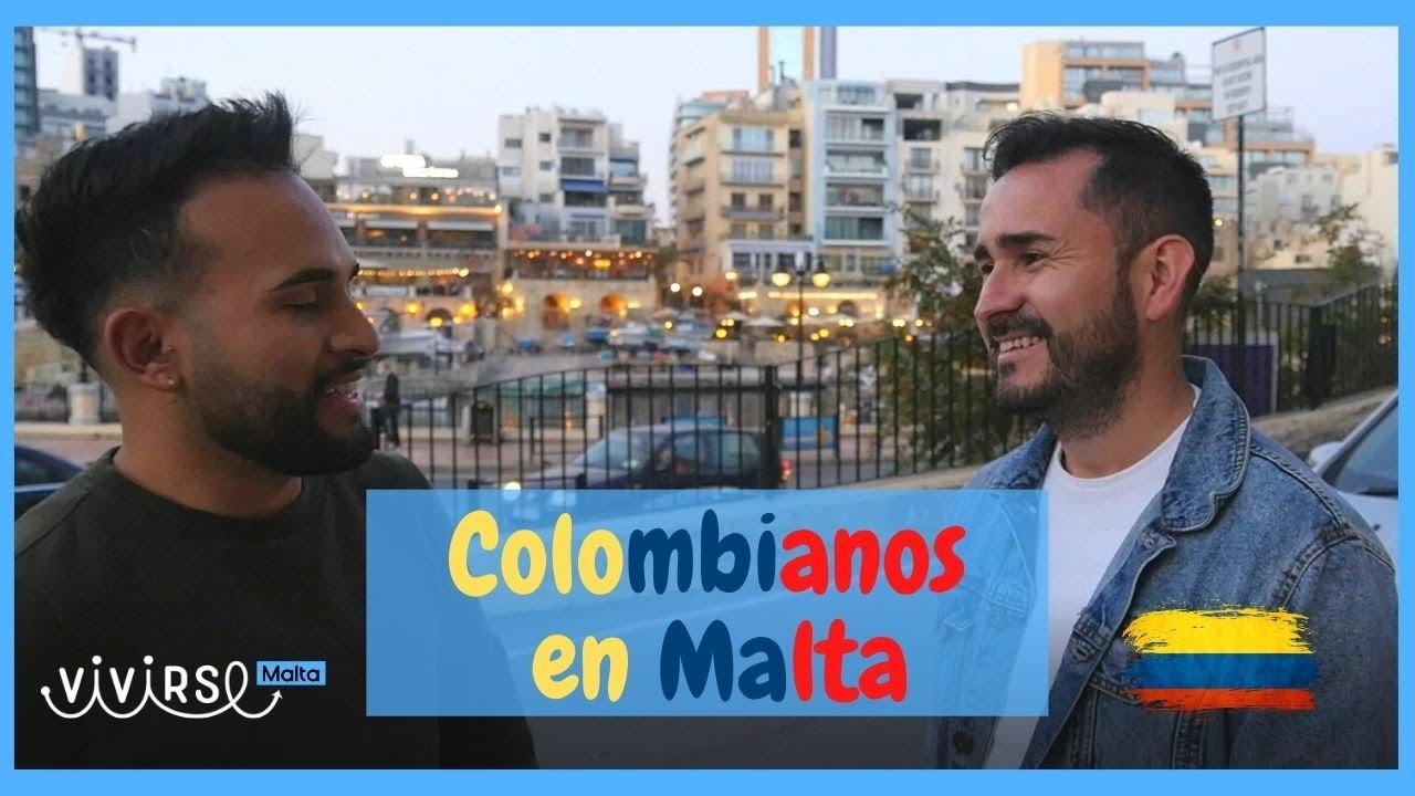 COLOMBIANOS EN MALTA