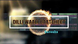 Dilli Waali Baatcheet Instrumental | Raftaar | Fl studio 12| Remakerz RK
