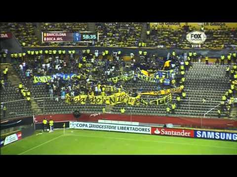 Barcelona 1 - 2 Boca - Copa Libertadores 2013 - Fase de Grupos