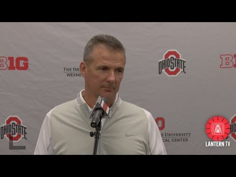 Ohio State HC Urban Meyer press conference - October 23, 2017