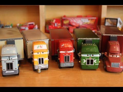 Mattel Disney Cars Jerry Recycled Batteries Gil Paul Valdez Oliver