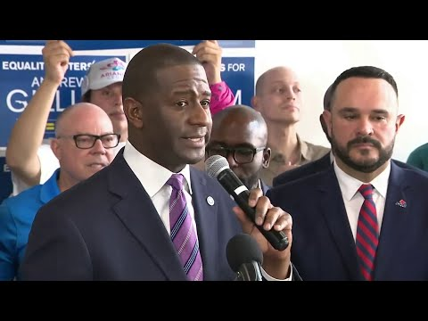Andrew Gillum picks up endorsement from civil rights organization