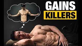 8 Sleeping Habits KILLING Your Gains!