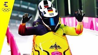 Zweierbob-Gold Für Friedrich Und Margis | Day 10 | Olympische Winterspiele 2018 | Eurosport
