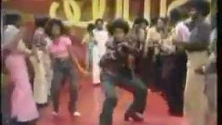Don Cornelius Dances in Soul Train Line With Mary Wilson