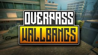 MUST KNOW WALLBANGS FOR OVERPASS - CS:GO (2018)