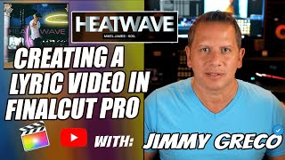 How To Make A Lyric Video - Final Cut Pro - YouTube  Tutorial