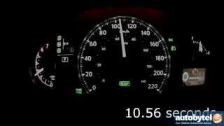 2013 lexus ct 200h 0 60 mph hybrid car acceleration video