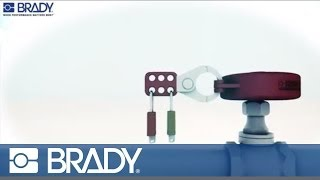 Brady Lockout Tagout Device Movie: Gate valve lockout