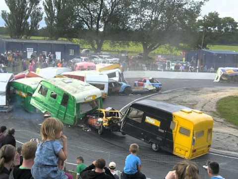 Bangers and Caravan Demolition Derby - Barford 08/2015