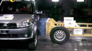 Краш-тест и видео краш-тест Daihatsu Sirion (Daihatsu Сирион)
