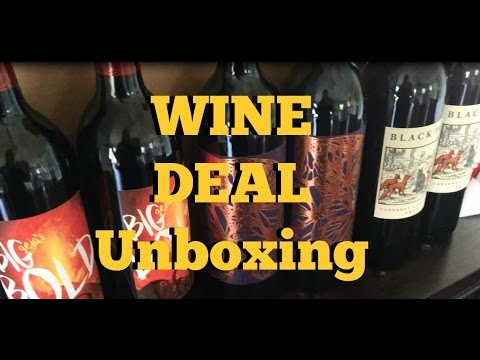 Heartwood & Oak California Wine Deal UNBOXING - YouTube
