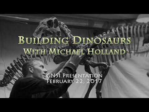 Building Dinosaurs With Michael Holland